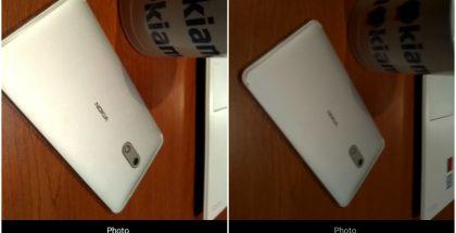 Nokia 5:n Oreo-testiversion mukana saapunut uusi kamerasovellus. Kuvat: NokiaMob.