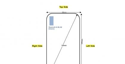 FCC:n kautta paljastuivat tulevan puhelimen mittatiedot.