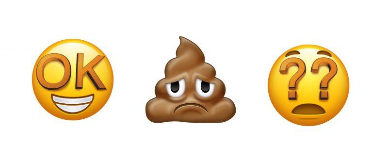 Nämä emojit on pudotettu pois ehdokkaiden joukosta.