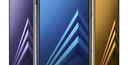 Samsung Galaxy A8 (2018) ja Galaxy A8+ (2018).