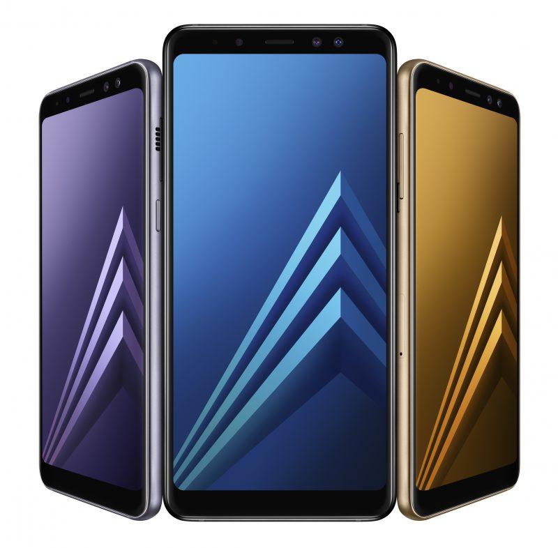 Samsung Galaxy A8.