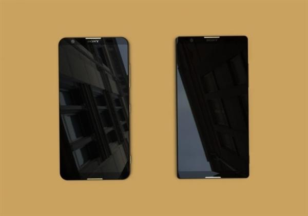 """Kaksi uutta Sony Xperia -älypuhelinta sisältävät 18:9-kuvasuhteen """"täysnäytöt""""."""