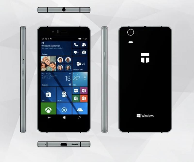 Trekstor WinPhone 5.0.
