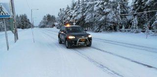 Suomalaista robottiautoa testattiin lumella ja jäällä – tuloksena todennäköisesti nopeuden maailmanennätys