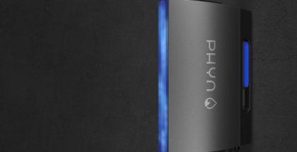 Phyn Plus -vesiputkimonitorointilaite.