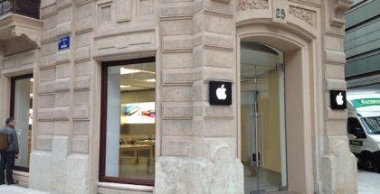 Valencian Calle Colónin Apple-kauppa.