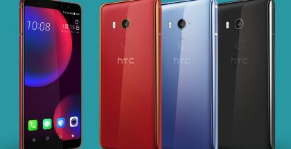 HTC U11 EYEs kolmena värivaihtoehtona.