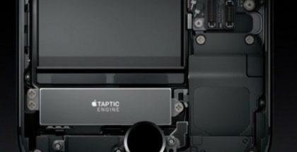 Taptic Engine iPhone 7:ssä.
