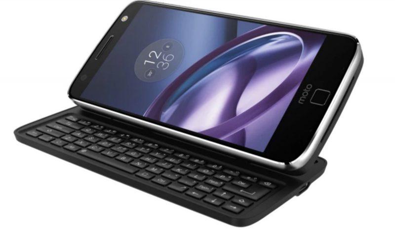 Livermorium-näppäimistökuori Moto Z -puhelimille.