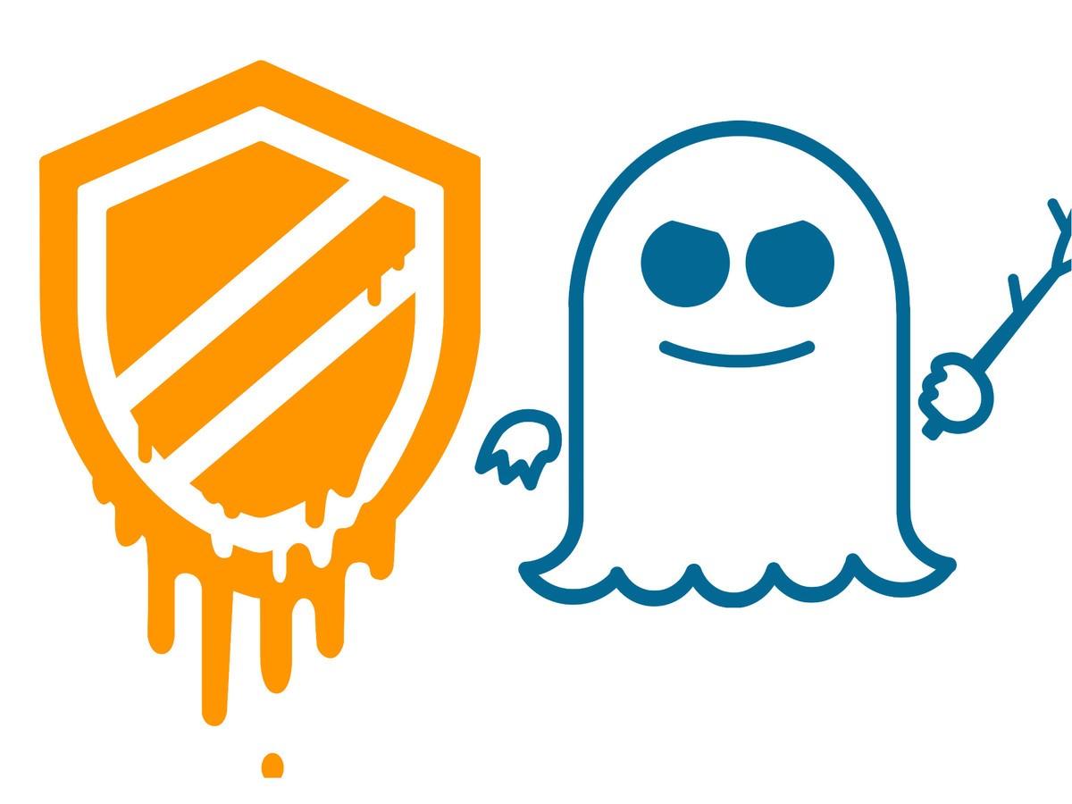 Meltdown- ja Spectre-haavoittuvuuksille on myös omat logonsa.