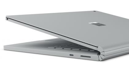 Surface Book 2 on varustettu edelleen tavanomaisesta poikkeavalla saranaratkaisulla.