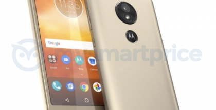 Motorola Moto E5. MySmartPricen vuotama kuva.
