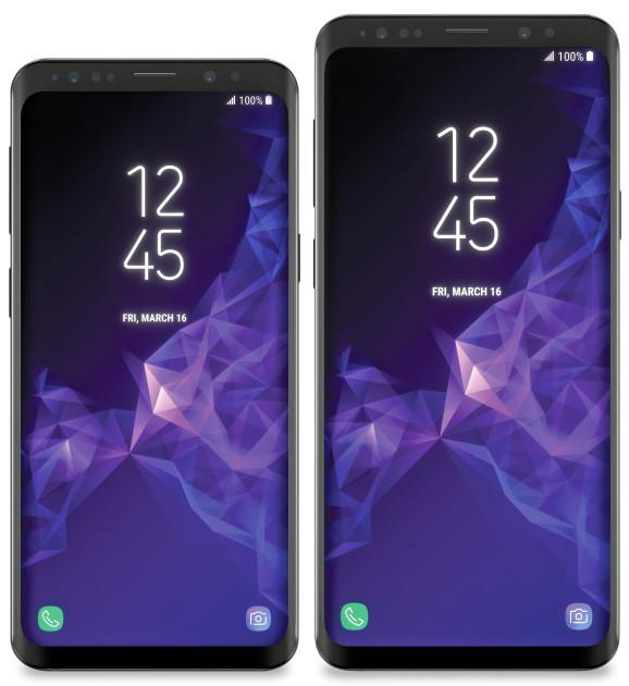 Samsung Galaxy S9 ja S9+.