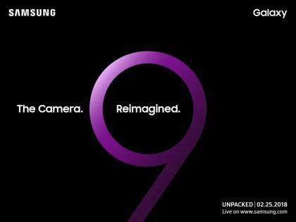 Samsung viittasi ennakkokuvassaan kameroiden uudistumiseen.