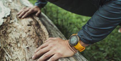 Suunnon Spartan Trainer Wrist HR saa uusia värivaihtoehtoja. Kuvassa Amber-väri.