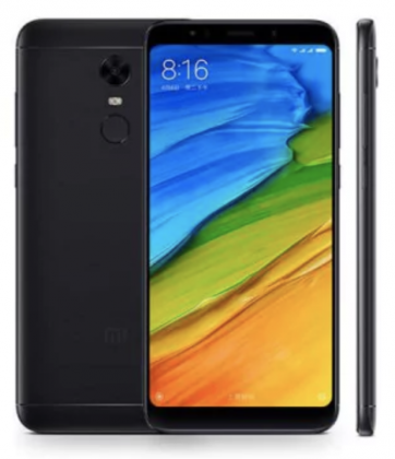 Xiaomi Redmi 5 Plus.