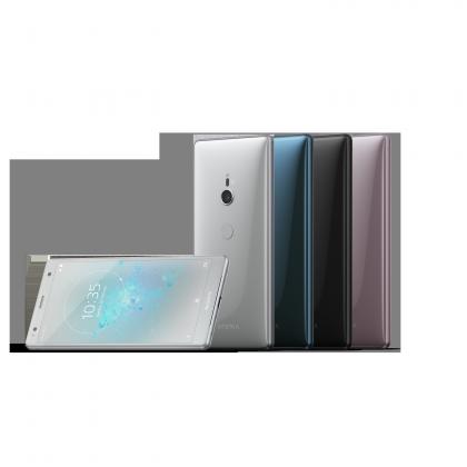 Xperia XZ2 eri väreissä.