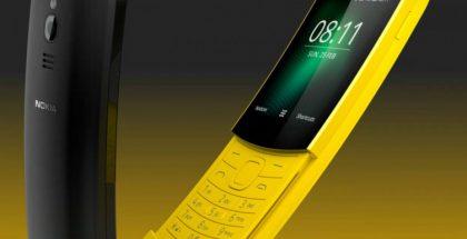 Myös Nokia 8110 4G on varustettu KaiOS-käyttöjärjestelmällä.