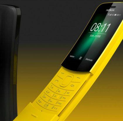 Uusi banaanipuhelin Nokia 8110 4G ennakkomyyntiin tänään – toimitukset alkavat 16. heinäkuuta