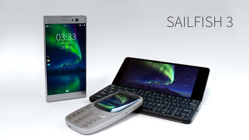 Sailfish tulee Sony Xperia XA2:lle, Gemini PDA:lle sekä peruspuhelimille.