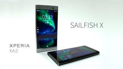 Xperia XA2 on seuraava Sony-älypuhelin Sailfish X:n ohjelmassa.