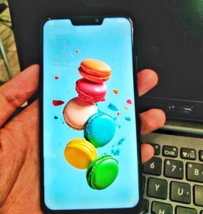 Asus ZenFone 5. Bernardo G da Silvan Twitterissä julkaisema kuva.