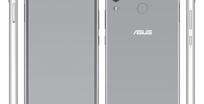 Asus ZenFone 5 WinFuture.den vuotamassa kuvassa. Näytön yläreunassa kameran ja muut komponentit sisältävä lovi.