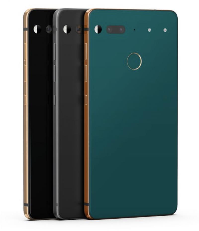 Essential Phonen uudet värivaihtoehdot.
