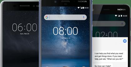 HMD Globalin Nokia-älypuhelimia.