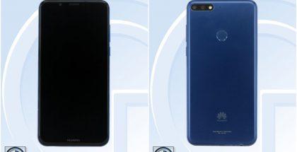Uusi Huawei-puhelin LDN-mallikoodilla.
