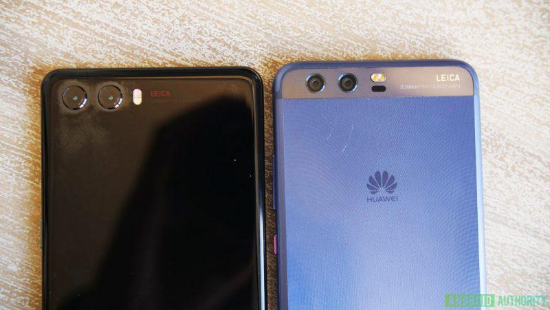 Ei kahta kameraa? Rinnalla sininen Huawei P10.