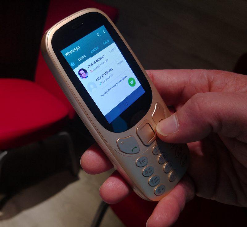 Suosittu WhatsApp toimii Android-versiona suoraan Jollan Sailfishillä varustetussa peruspuhelimessa.