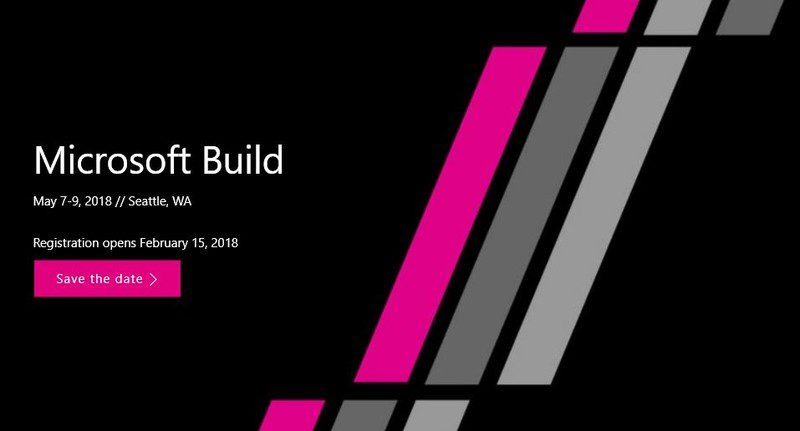 Microsoft Build 2018.