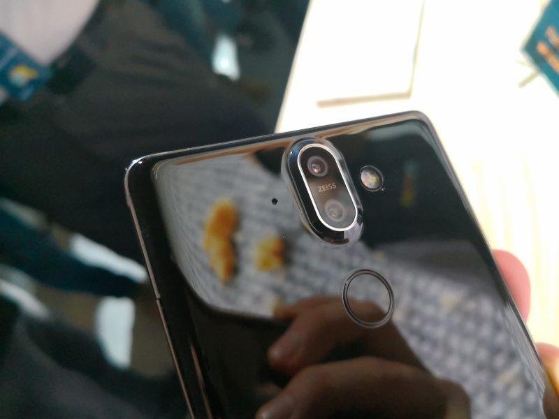 Nokia 8 Siroccossa on sama 2x optisen zoomin kaksoiskamera kuin Nokia 7 Plussassa.