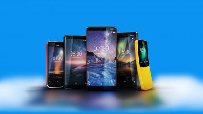 Uusi Nokia-puhelinmallisto.