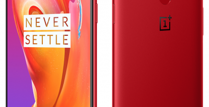 OnePlus 5T Lava Red.