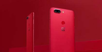 OnePlus 5T Lava Red on jo osittain myyty loppuun.