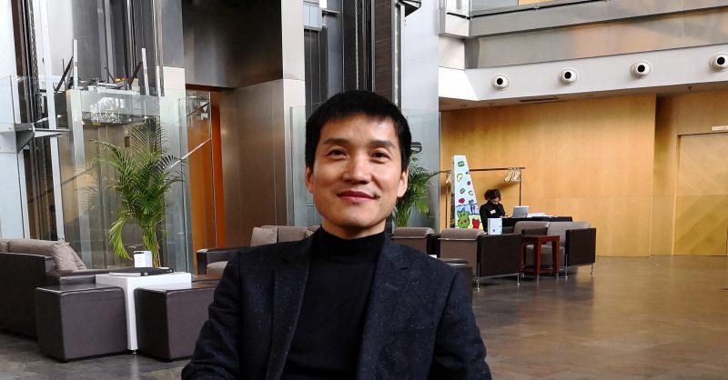 OnePlussan toimitusjohtaja Pete Lau.