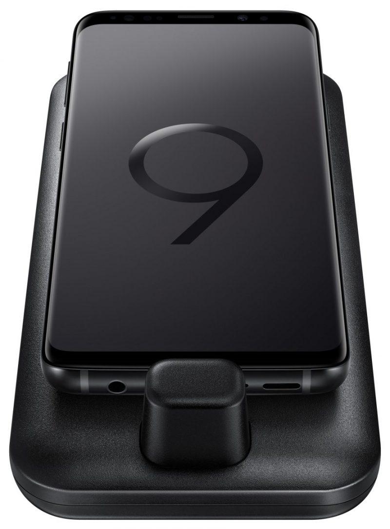 DeX Padin päällä nähdään myös Galaxy S9 toisessa Evan Blassin vuotamassa kuvassa.
