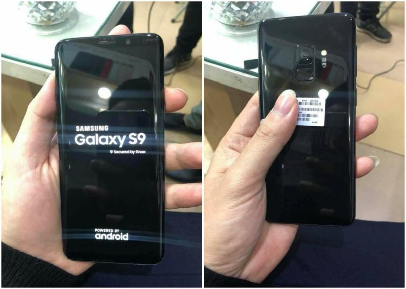 Samsung Galaxy S9 uusissa live-kuvissa.