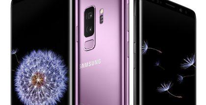 Samsungin tulevat Galaxy S9 -puhelimet WinFuture.de-sivuston vuotamassa kuvassa.