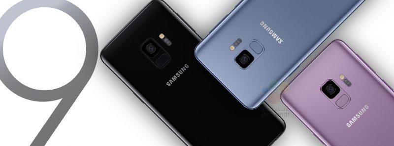 Sormenjälkilukijan sijainti on muuttunut Galaxy S8 -puhelimiin verrattuna.