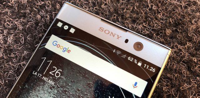 Arvostelussa Sony Xperia XA2: perushyvä keskihintaluokan älypuhelin