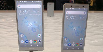 Sonyn uusimpia älypuhelimia ovat Xperia XZ2 ja Xperia XZ2 Compact.