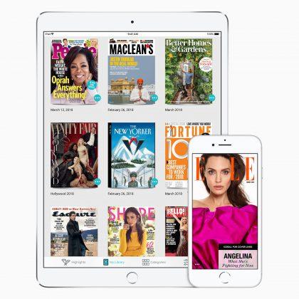 """Apple hankkima Texturea on kuvailtu jo """"digilehtien Netflixiksi""""."""