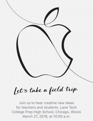 Applen kutsu tilaisuuteen.