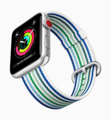 Nykyinen Apple Watch Series 3.