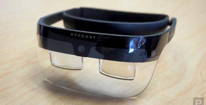 Avegantin kehittämät lisätyn todellisuuden lasit.