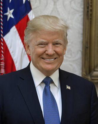 Yhdysvaltojen presidentti Donald Trump.