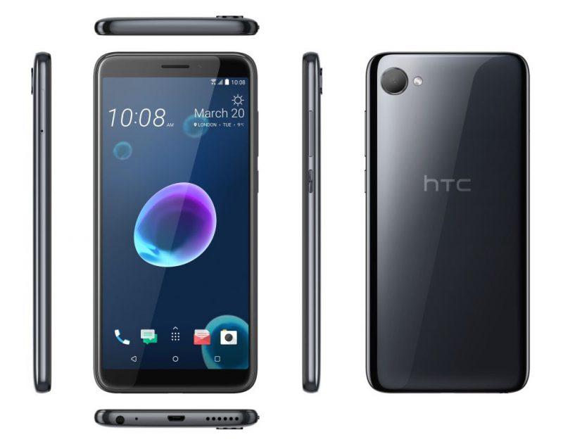 HTC Desire 12 Cool Black -värisenä.